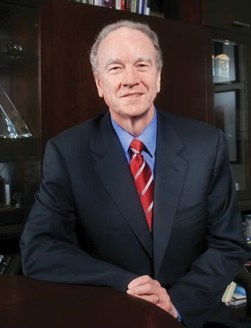 St. Edward's University President George Martin