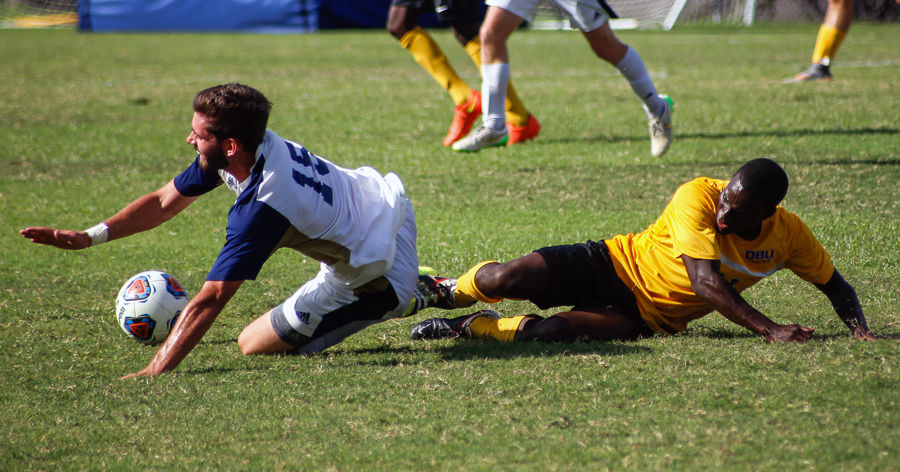 The men's soccer team has dominated their first seven games.