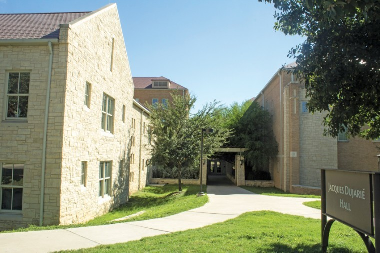 Dujarie Hall was one of the dormitories that received updates or renovations in summer 2012.