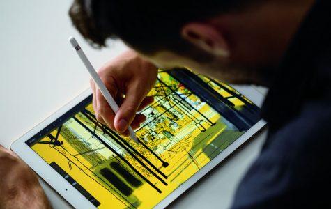 The iPad Pro is bigger than the iPad.