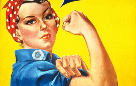 Rosie the Riveter aims to rally women without showing face