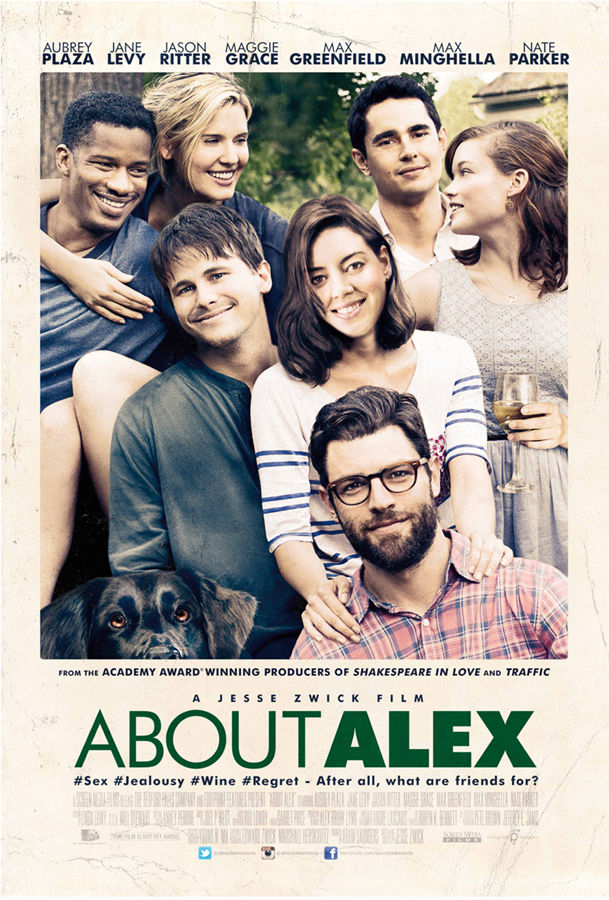 About Alex came out in 2014 and is now on Netflix.