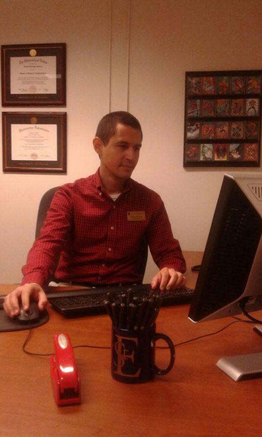 Associate Director Adrian Ramirez has never held a job outside of Dallas before.