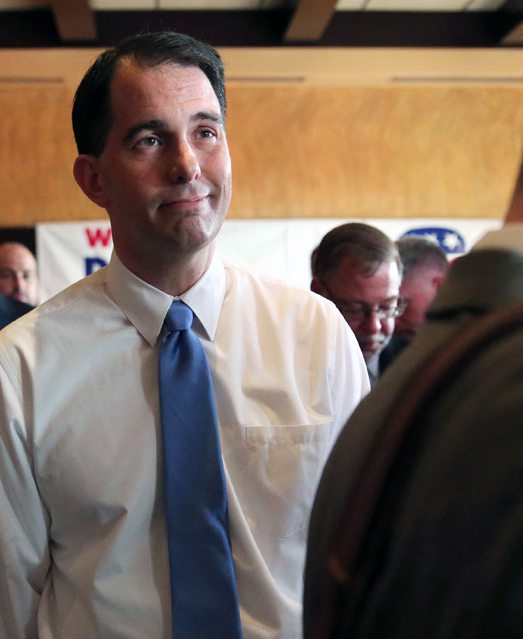 Scott Walker withdrew from the 2016 presidential race in Sept.