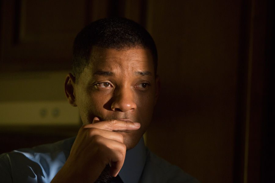 Will Smith stars as Dr. Bennet Omalu in 2015 film