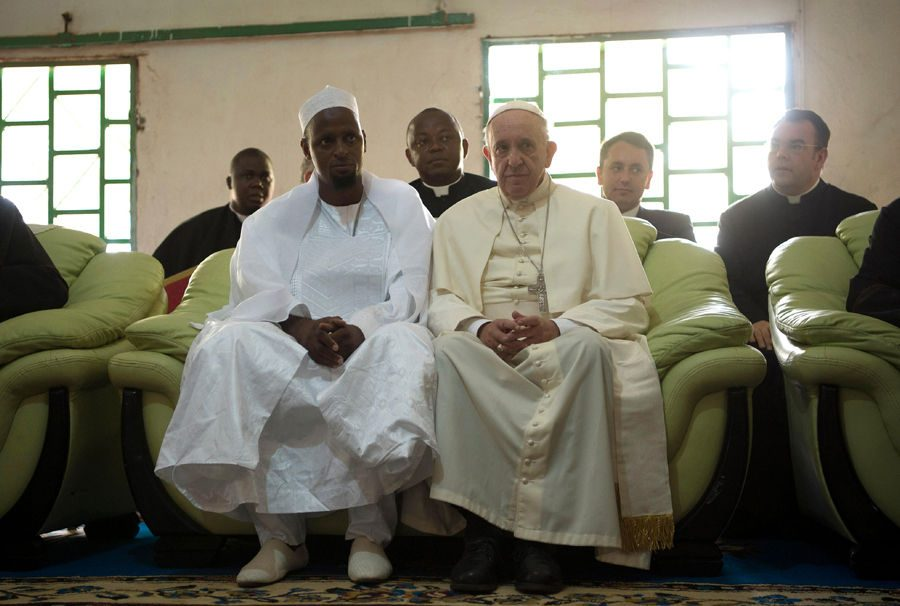 Pope Francis has not formally visited Africa since his inauguration.