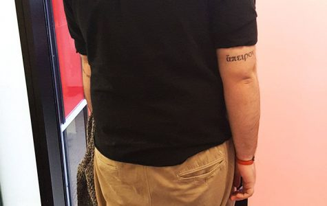 Greek 'Infinity' tattoo represents philosopher and his variant theories