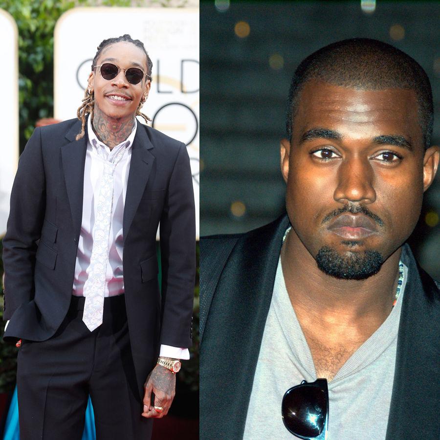 Feuding+Khalifa+and+Kanye