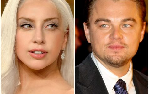 Leo goes Gaga at Golden Globes