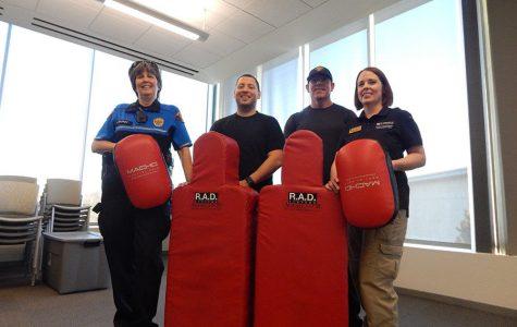 University Police hosts self-defense class