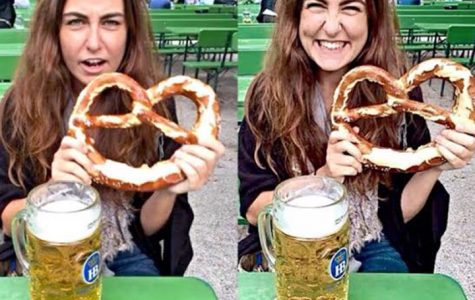 Moving cities (from Hanoi, VN to Munich, DE) can be physically and emotionally exhausting! So, treat yourself with a Bretzel and Bier at the English Gardens!