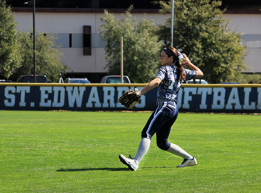 The St. Edward's University softball team will start Heartland Conference action this weekend.