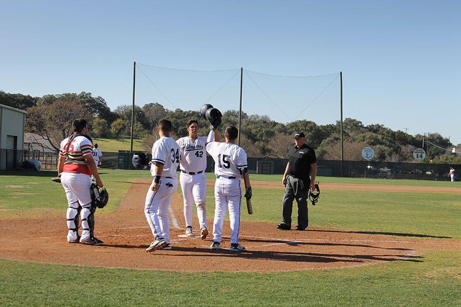The St. Edward's University baseball team is on an eight-game winning streak.