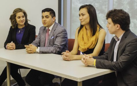 Candidates spar for votes at SGA debate