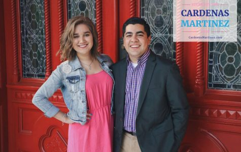 Sens. Jamie Cardenas, left, and Carlos Martinez won the 2016 SGA presidential and vice presidential elections. They will be sworn into office on April 28.