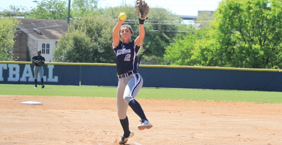 Lauren Slatten pitched her most recent no-hitter on April 2.