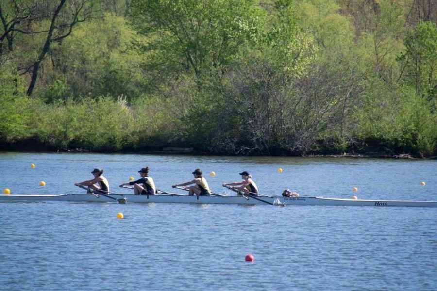 The St. Edward's University Rowing Club finished their season on April 16.