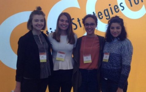 Honors students present research at conference on college composition