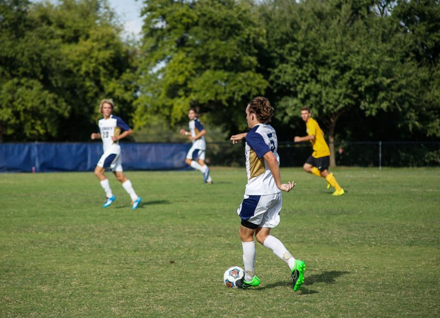 The+St.+Edward%27s+University+men%27s+soccer+team+is+8-0+to+start+the+season.