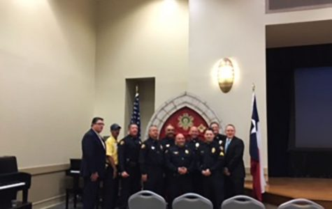 UPD held a badge pinning ceremony Sept. 22, to recognize new members and promotions in the department.