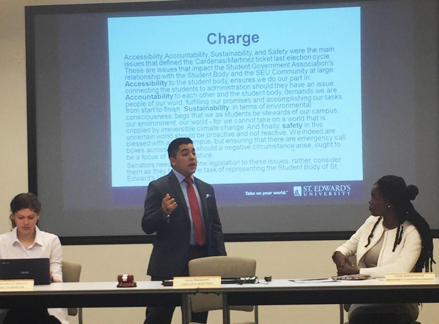 SGA discussed the smoking-ban referendum, accountability codes and other hot topics at their senate meeting Sept. 22.