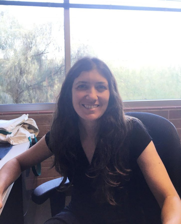 Amy Concilio, assistant professor of environmental science, uses her knowledge of living in 15 different states across two countries in the classroom.
