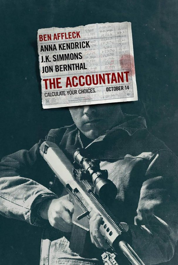'The Accountant' raked in $24.7 million during its debut weekend.