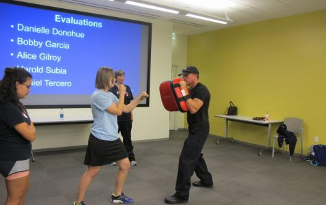 Campus police annual course arms students with self defense skills