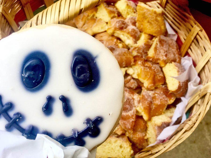 Pan de Muerto, or bread of the dead, is a traditional Mexican bread eaten to celebrate el Dia de Los Muertos.