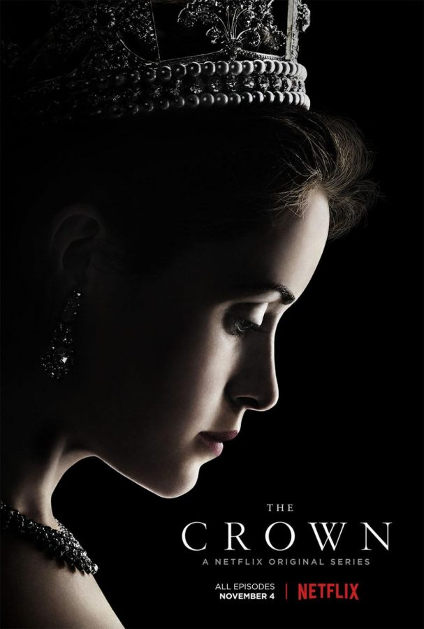 'The Crown' portrays the journey of a young Queen Elizabeth II as she navigates through her first years as the Queen of England.