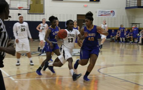 St. Edward's women's basketball atop conference standings