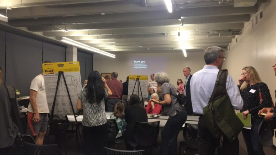 Sherwood Oaks neighbors and others in the surrounding St. Edwards area gathered for a meeting Feb. 22.