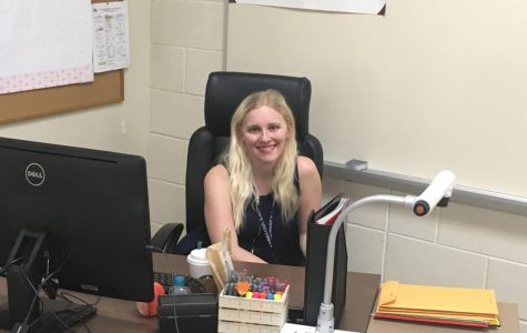 Eighth grade teacher appreciates opportunities for internships, community provided by St. Edward's
