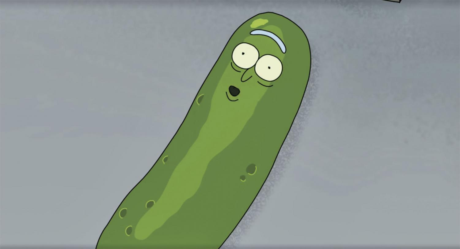Pickle Rick (above) remains the best joke of the new season.