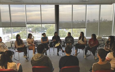 The discussion honed in on ways to maintain mental health in the Latino community