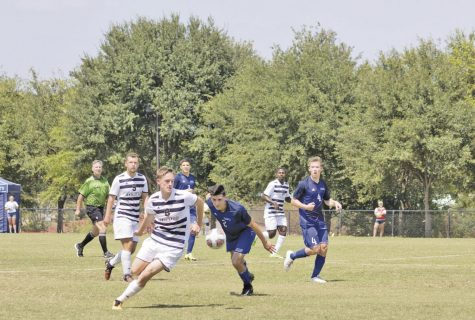Men's soccer team vs. Lubbock Christian ends in double OT draw