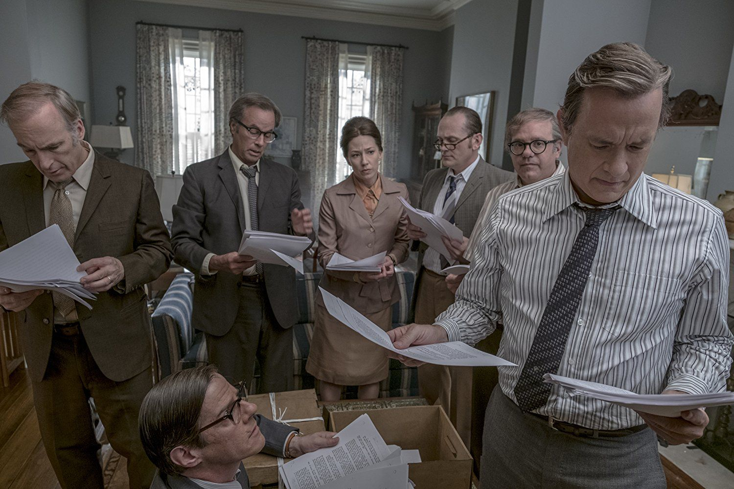 'The Post' balances modern political commentary with an examination of gender roles in the workforce of the 1970s.