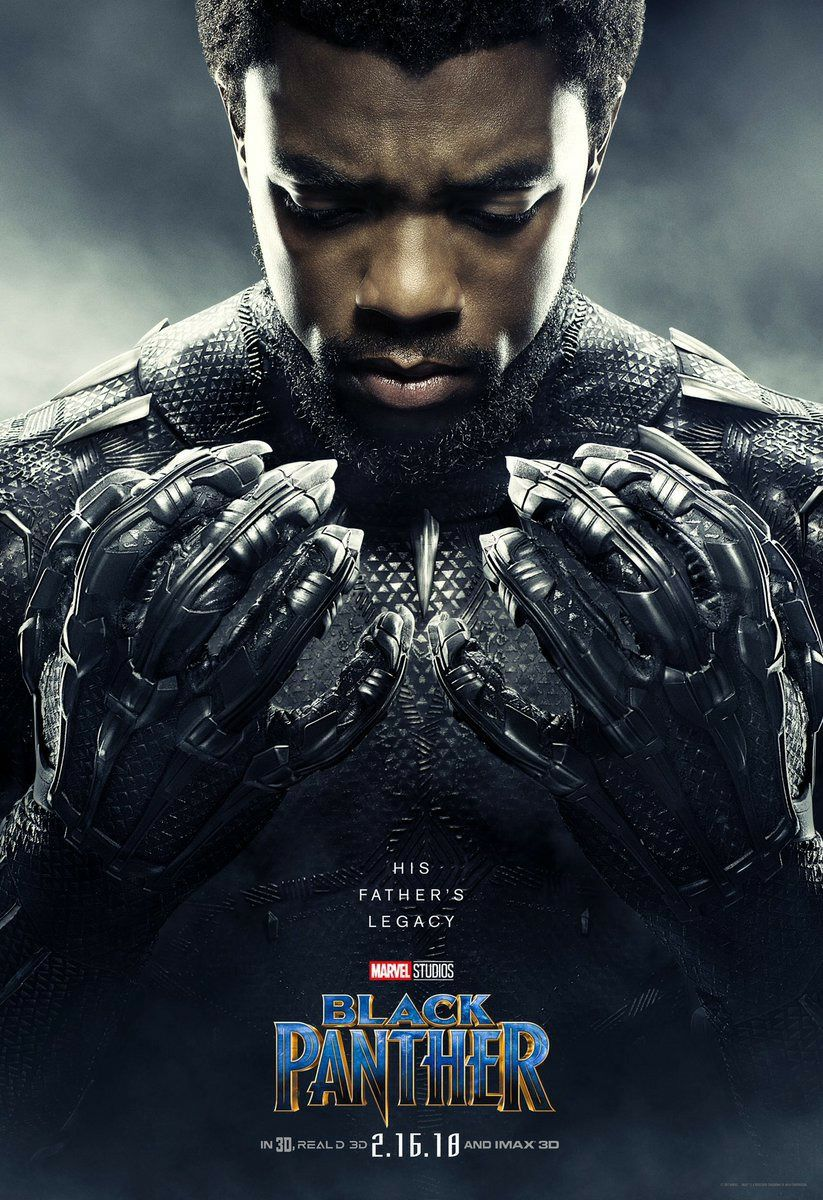 Chadwick Boseman portrays King T'Challa, the Black Panther.