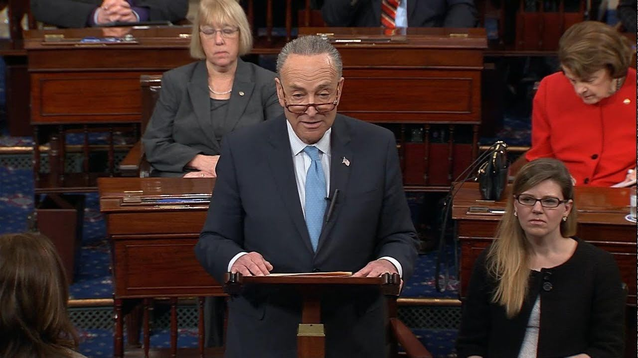 Sen. Chuck Schumer (D-New York) argues that democratic candidates need to make sentiments into policy.