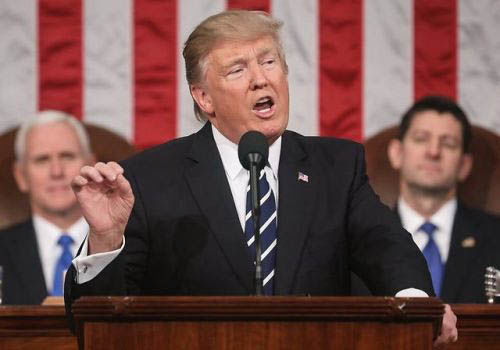 The State of the Union took place Jan 30, and overall focused on American patriotism.