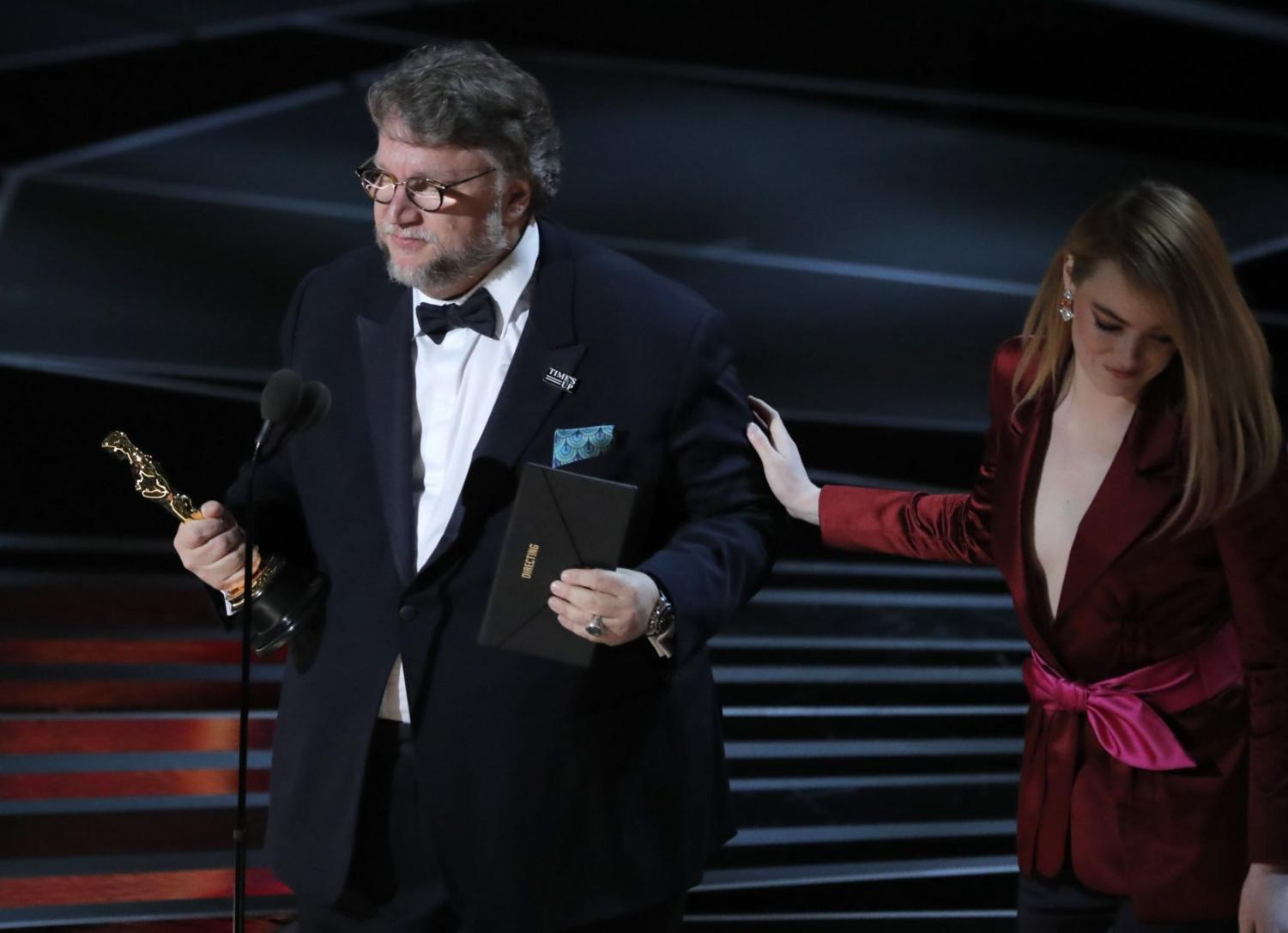 Guillermo Del Toro took home numerous Oscars for