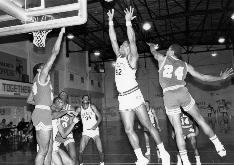 SEU men's basketball in the 80s