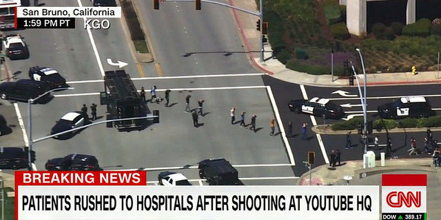The+attack+on+YouTube+headquarters+left+three+injured.