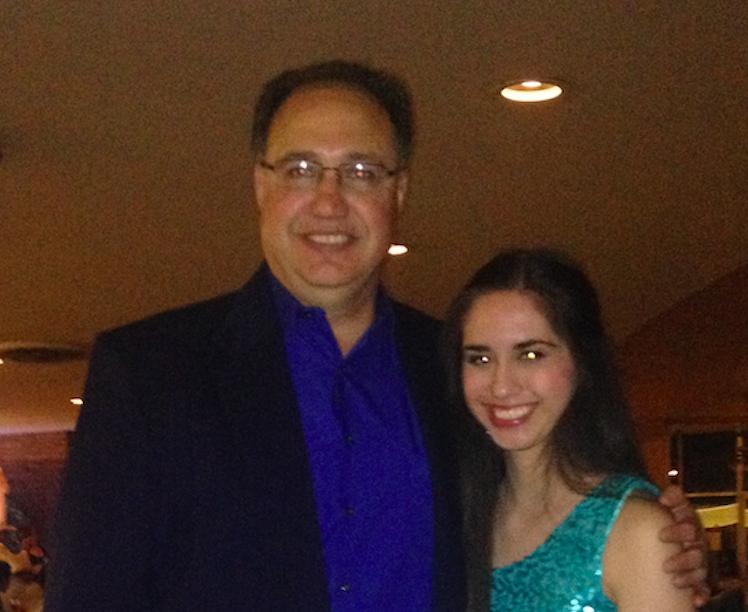 "Joel ""Joey"" A. Gonzalez with Amanda Gonzalez at a family friend's daughter's quinceañera in 2014."