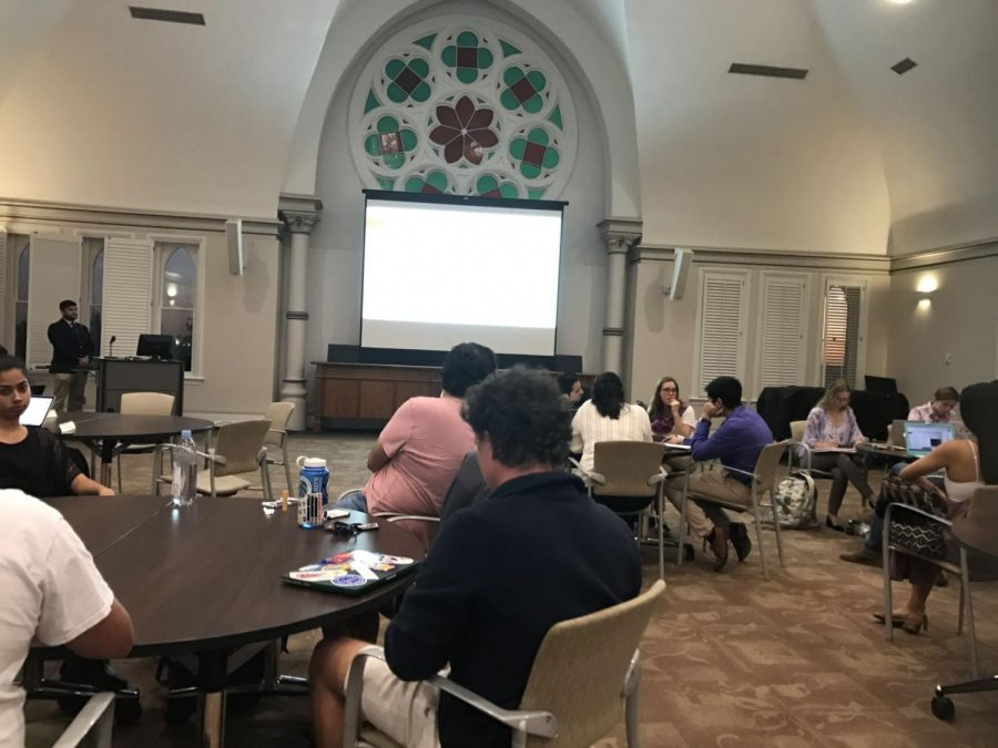 SGA approves fractions of funding requests from student organizations