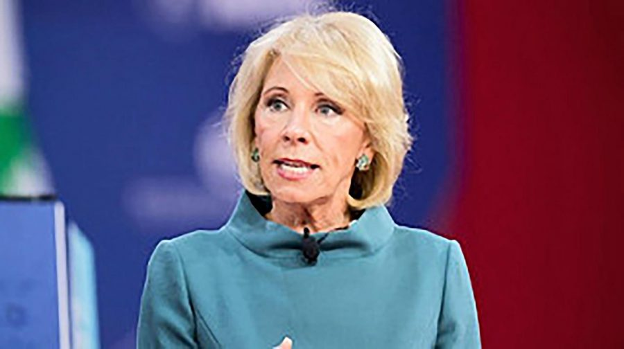 Devos has not confirmed any of the regulation changes as of yet.