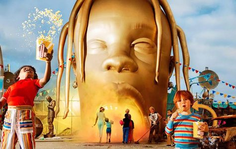 Psychedelic aesthetic, features thrive in 'Astroworld'