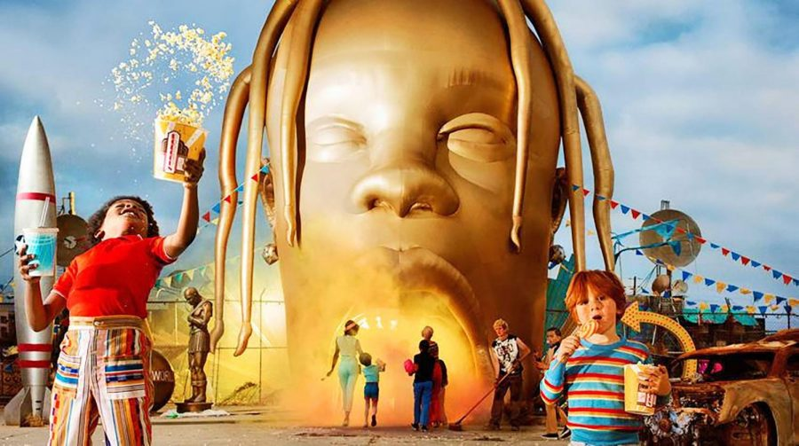 'Astroworld' is Scott's third studio album.