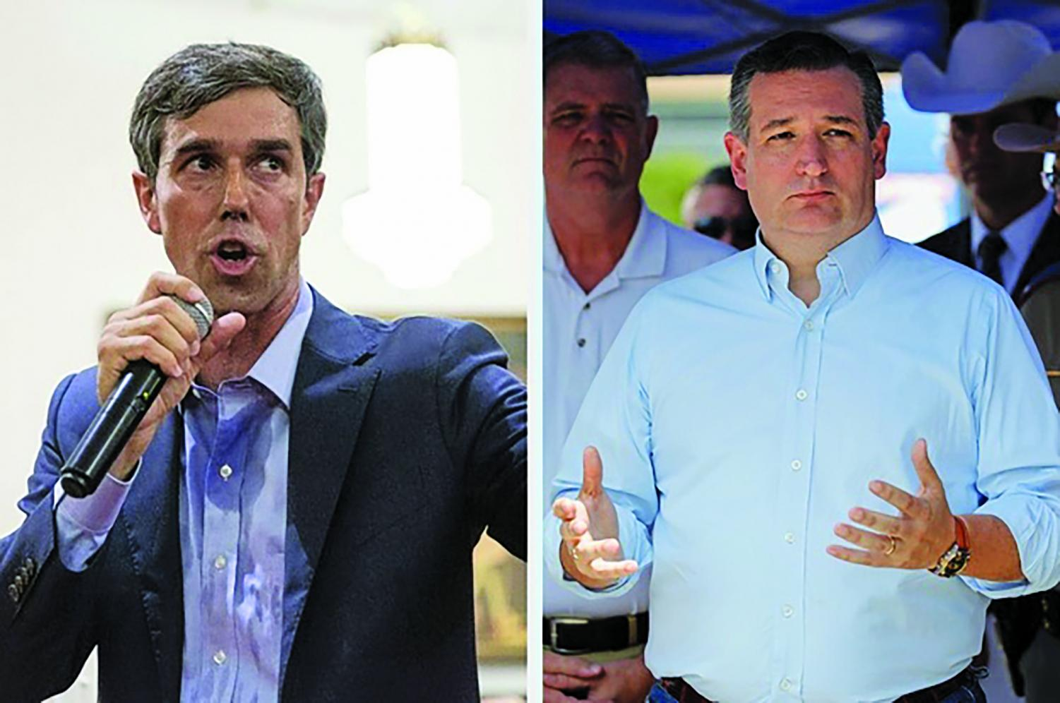 Cruz and O'Rourke will have three debates leading up to the November 8 election.