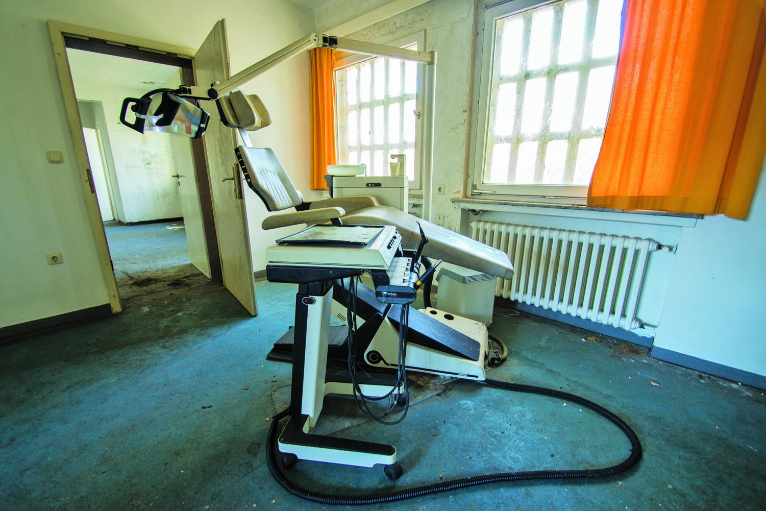 Dentistry in prisons has gone downhill in recent years.